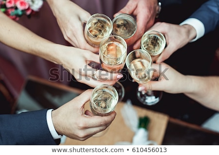 toast cheering up Stock photo © sapegina