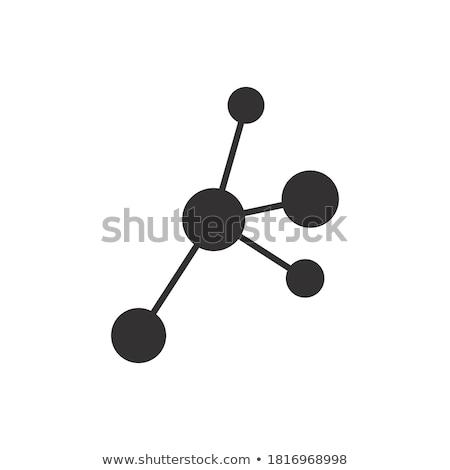 науки символ генетика иллюстрация фон искусства Сток-фото © bluering