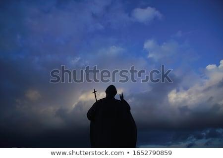 bishop sunset stock photo © pancaketom