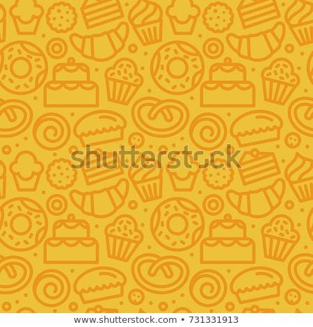 красочный линейный конфеты бесшовный вектора Сток-фото © maia3000