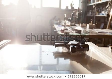 Dummy manufacturing workroom Stock photo © blanaru