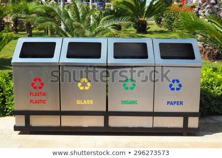 Room with recycle bin Stock photo © SwillSkill