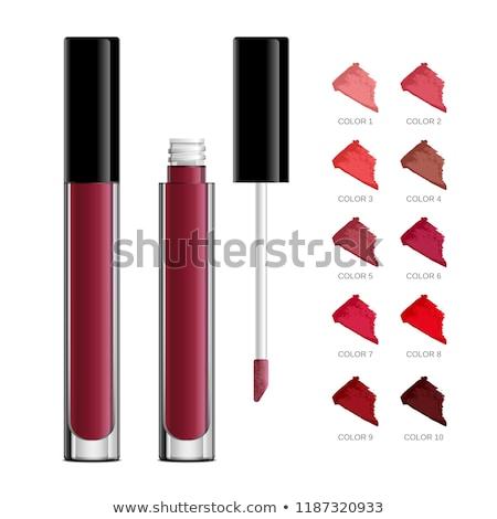 roze · lippenstift · illustratie · witte · vrouwen · achtergrond - stockfoto © lucia_fox