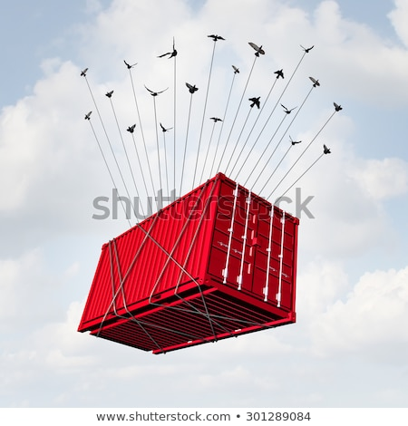 Cargo Group Shipping Stock photo © Lightsource