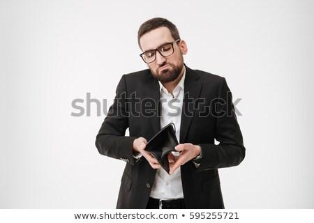 młodych · biznesmen · czarny · okulary · młody · człowiek - zdjęcia stock © deandrobot