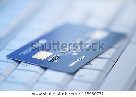 E-Banking CloseUp of Keyboard. 3D Rendering. Stock photo © tashatuvango