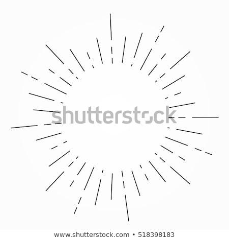 日光 行 バースト エレガントな デザイン 背景 ストックフォト © SArts
