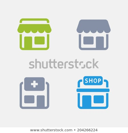 Store - Granite Icons stock photo © micromaniac