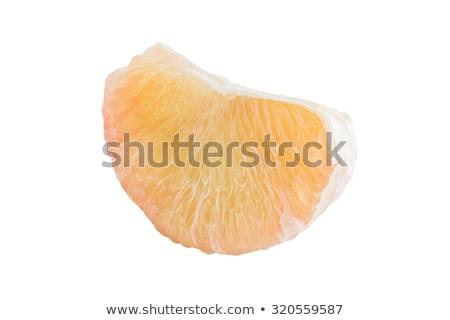 Hámozott tányér fehér háttér stúdiófelvétel szürke nyers Stock fotó © Digifoodstock