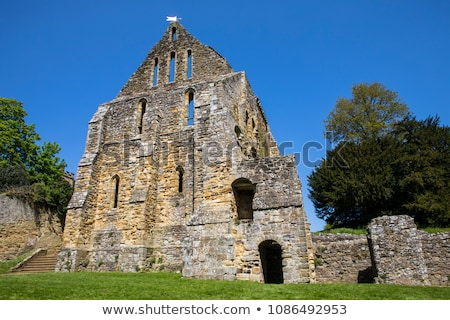 Battle Abbey Remains, Sussex, UK Stock photo © smartin69