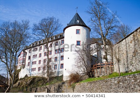 The castle was Bilstein 1202 to 1225 built on the Rosenberg directed the squire Dietrich II of Gevor Stock photo © g215