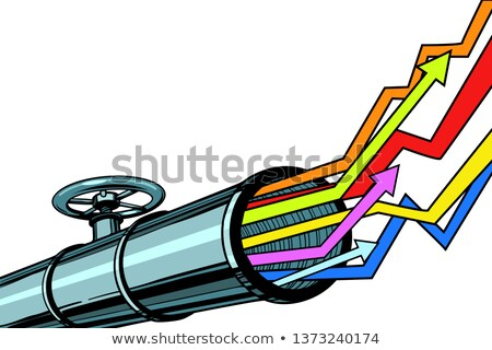 pipe revenue graphs grow up Stock photo © studiostoks