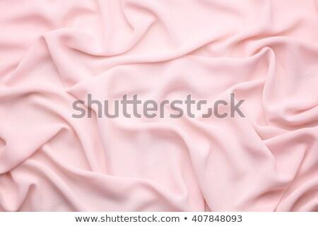 розовый текстильной мягкой зеленый цвета текстуры Сток-фото © neirfy