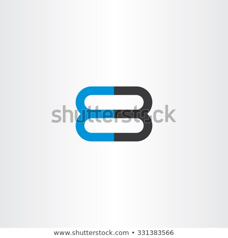 number 8 and 3 logo 83 vector icon Stock photo © blaskorizov