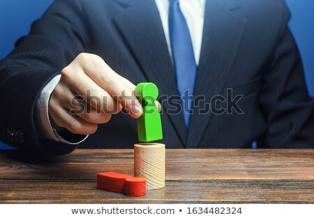 Worker Control and Dismissal, Bad Boss of company Stock photo © robuart