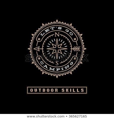excelência · bússola · imagem · prestados · usado - foto stock © make