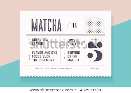 Címkék illusztráció négy különböző terv művészet Stock fotó © colematt