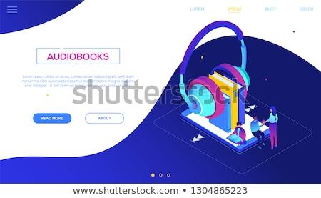 online · onderwijs · moderne · kleurrijk · isometrische · witte - stockfoto © decorwithme