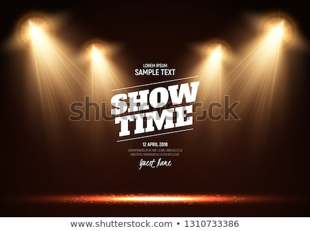 Show Stage Spotlight Stock photo © alexaldo