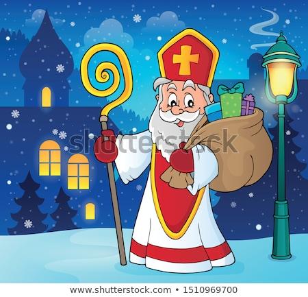 saint nicholas topic image 5 stock photo © clairev