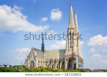 Церкви Вена Австрия здании путешествия архитектура Сток-фото © borisb17