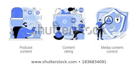 Guideline and regulation vector concept metaphor. Stock photo © RAStudio