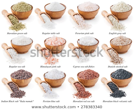 Different types of rocks on white background Stock photo © bluering