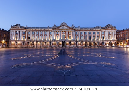 Франция сердце муниципальный администрация французский город Сток-фото © borisb17