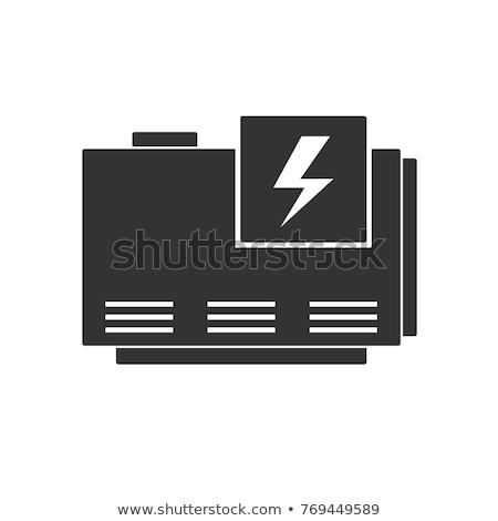 ジェネレータ 自動車の 古い 車 電気 銀 ストックフォト © Freelancer