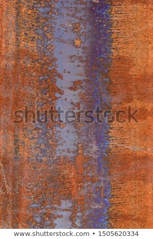 Koszos szürke elnyűtt fal kék szín Stock fotó © Melvin07