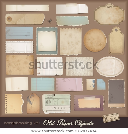 Vector ripped paper - digital background Stock photo © orson