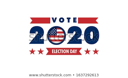 választás · jelvények · USA · kampány · izolált · fehér - stock fotó © sahua