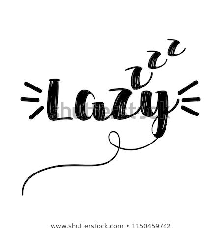 Lazy Days Stock photo © lovleah