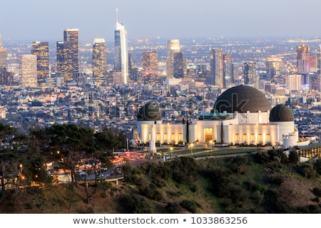 los angeles above griffith observatory los angeles california stock photo © tobkatrina