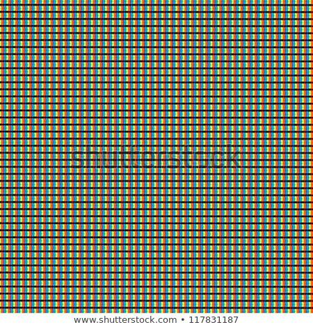 モニター テクスチャ タイプ グリッド リフレッシュ コンピュータ ストックフォト © italianestro