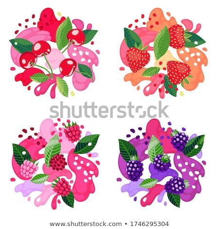 Strawberry berries stock photo © oksix