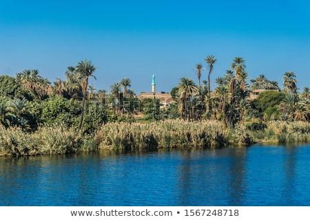 minare · Mısır · mimari · detay · Afrika · Bina · inşaat - stok fotoğraf © prill