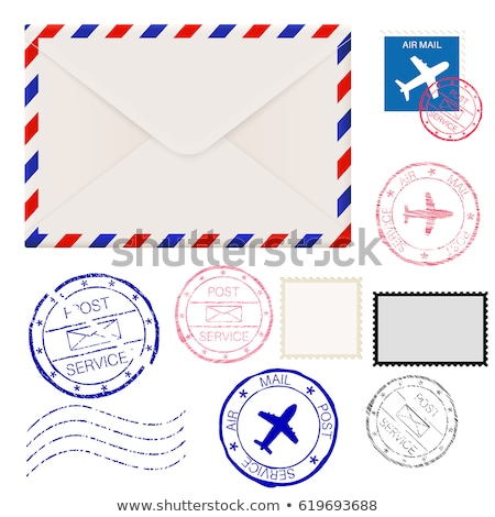 Americano post sello Estados Unidos América impreso Foto stock © Taigi