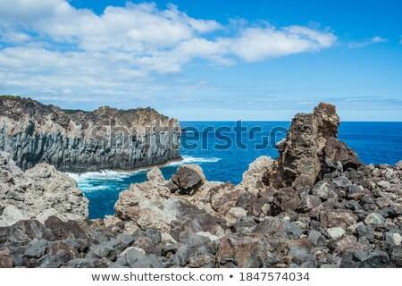 sahil · manzara · ada · adalar · grup - stok fotoğraf © prill
