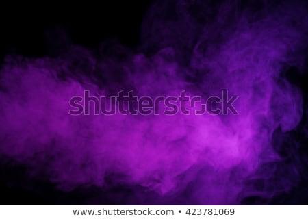 purple smoke detail Stock photo © prill