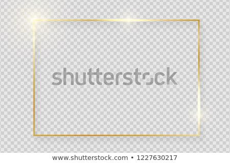 vecchio · nero · oro · frame · cornice · bianco - foto d'archivio © witthaya