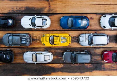Miniature cars jam Stock photo © Anterovium
