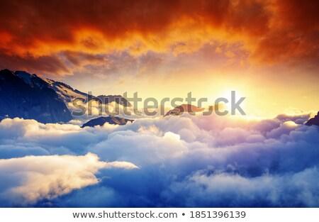 Alba di Canazei, Trentino, Italy Stock photo © Antonio-S