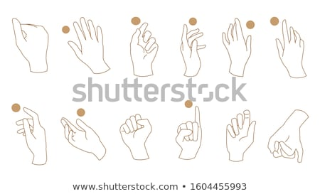 Hand Poses and Styles Stock photo © indiwarm