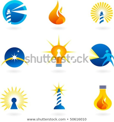 Solutions with a beaming Lighthouse symbol Stock photo © Lightsource