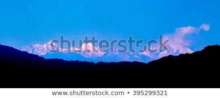 Panorama wygaśnięcia niebo świetle tle pomarańczowy Zdjęcia stock © moses