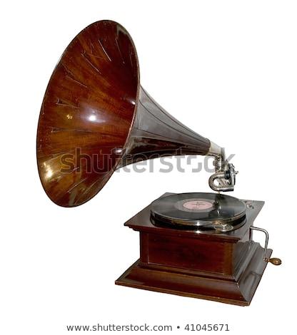 Vieux design technologie orateur sonores record Photo stock © vinodpillai