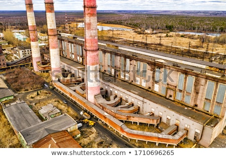 Old thermal power plant Stock photo © CaptureLight