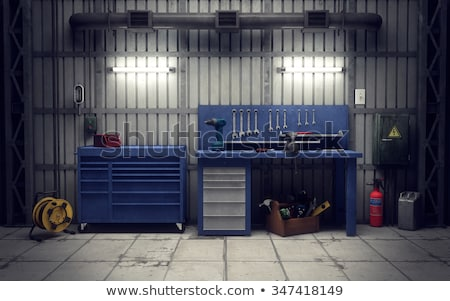 row of wrenches stock photo © neirfy