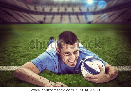 man reaching out to a big ball of light  Stock photo © feedough